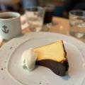 """ Basque Style "" Cheese Cake - 実際訪問したユーザーが直接撮影して投稿した有楽町イタリアン6th by ORIENTAL HOTELの写真のメニュー情報"