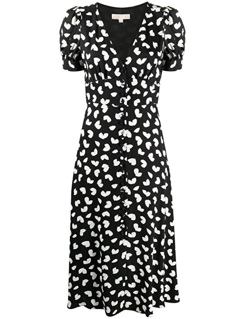 Season: SS2020 Color: WHITE/BLACK Made In: Italy Category: CLOTHING Sub Category: DRESS VISCOSE: 100