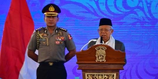 Bangun Indonesia Maju, Ma'ruf Amin Ingin Tiru Cara Nabi Muhammad