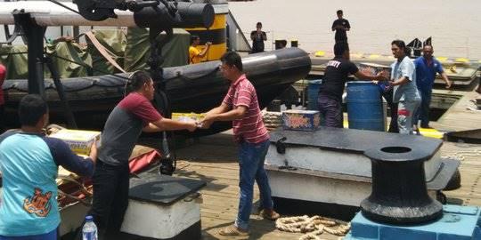 Bantuan logistik untuk korban gempa Sulteng. ©2018 Merdeka.com