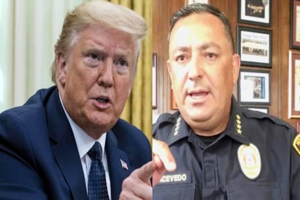 Kepala Polisi Houston ke Donald Trump: Tutup Mulutmu!