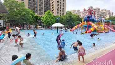 台北旅展夏來一起玩 親水節增氣墊戲水池