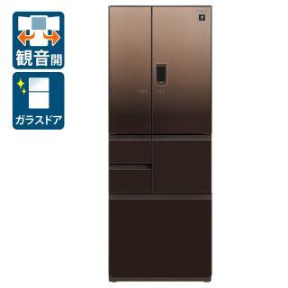 フレンチ6ドア冷蔵庫(SJ-AF50G-T)