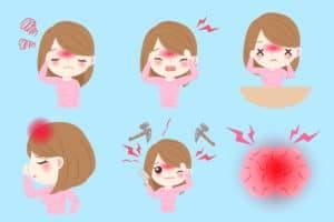 必知的4種頭痛類型~原因與治療方法
