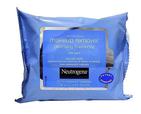 Neutrogena, Makeup Remover Cleansin露得清 卸妝巾 潔面巾 25入