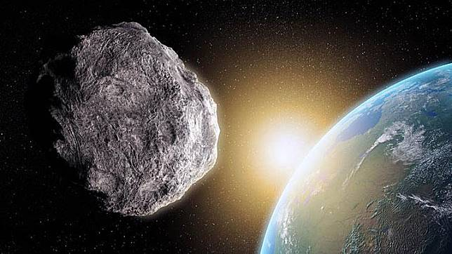 Ilustrasi asteroid. express.co.uk