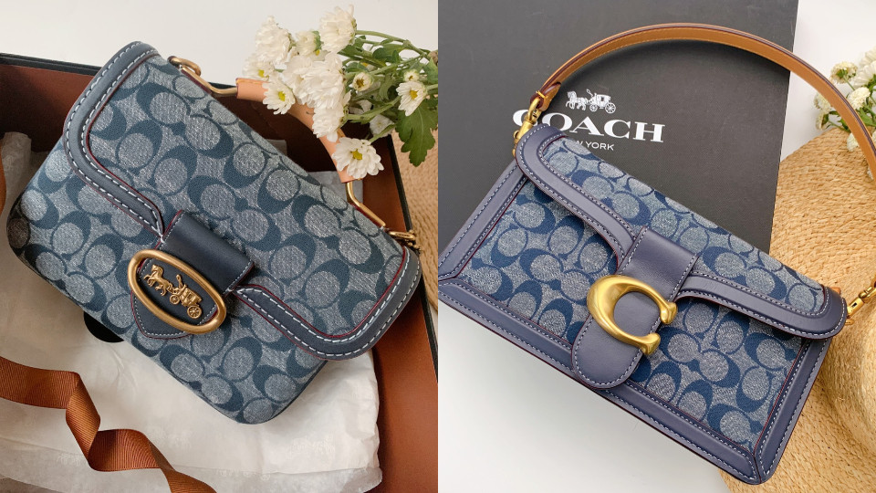 Coach Chambray Tabby 手袋,NT$16,800(右滑更多價格)
