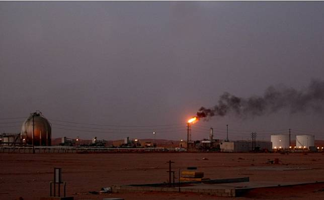 A Saudi Aramco oil installation.Saudi Arabia will host a virtual meeting Friday of energy ministers from the Group of 20 major economies in a bid to ensure