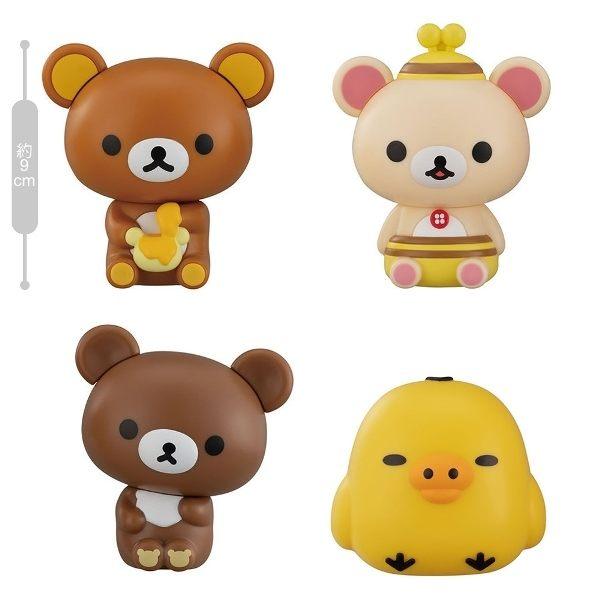 ◆懶懶熊 拉拉熊環保轉蛋第三彈好評上市! ◆全四款一次收集! ◆商品高約9公分