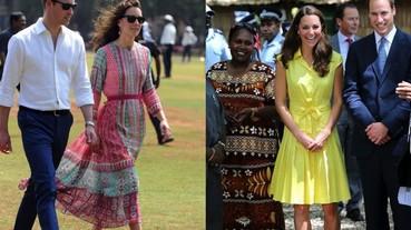 凱特王妃小清新連身裙 1/5都來自於她的愛牌 Jenny Packham