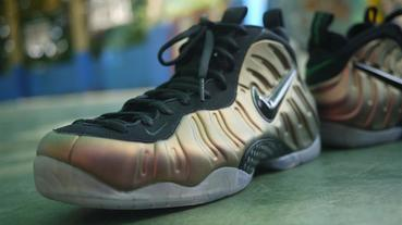 "網友分享 / AIR FOAMPOSITE PRO ""GYM GREEN"""