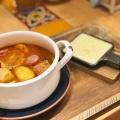 ゴルゴンチーズラーメン - 実際訪問したユーザーが直接撮影して投稿した西新宿ラーメン専門店太陽のトマト麺withチーズ 新宿ミロード店の写真のメニュー情報
