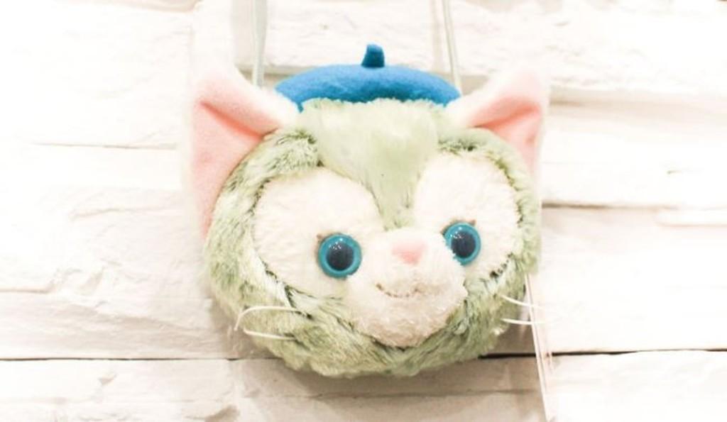 迪士尼DUFFY 貓咪達菲好友Gelatoni 吉拉東尼 零錢包 包包 背包