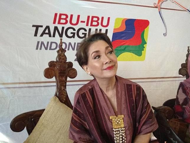 Aktris senior Widyawati dalam acara Penghargaan Ibu-Ibu Tangguh Indonesia untuk memperingati Hari Ibu di Jakarta, 22 Desember 2018.(istimewa)