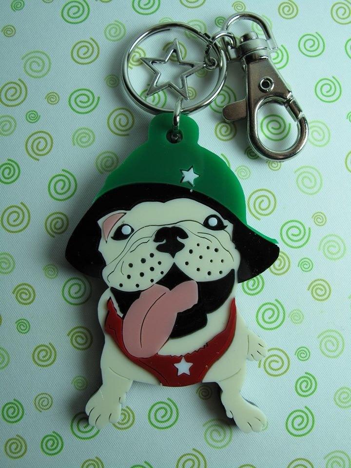 力克鴨♣彩色狗狗♣(客製化)專屬精品鑰匙圈/項鍊【法鬥篇】 《不限品種,皆可製作》 依照您家的毛小孩打造獨一無二的項鍊/鑰匙圈 ------------------------------------