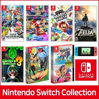[Nintendo Switch] Nintendo Game BEST Collection ★ SUPER SMASH / POKEMON / SUPER MARIO / ZELDA