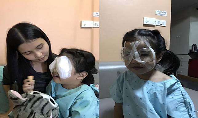 Balita 4 tahun harus operasi mata karena kecanduan ponsel