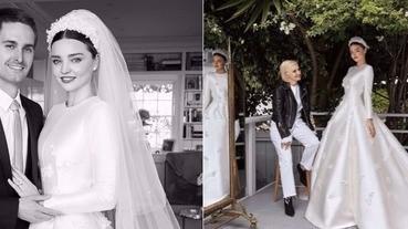 米蘭達·可兒婚紗越穿越貴氣,相中名人&皇室御用訂製款!