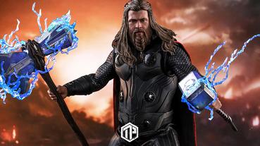 HotToys 推出《Avengers: Endgame》Thor 1:6 珍藏人偶!