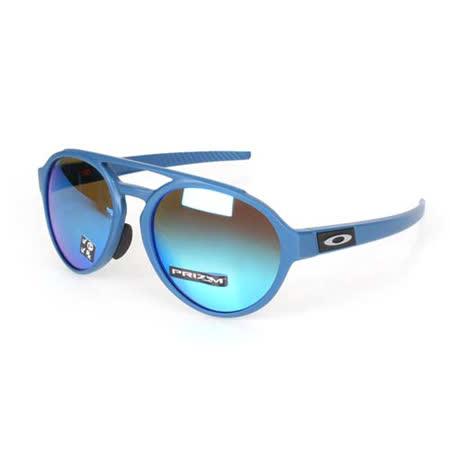OAKLEY FORAGER-A一般太陽眼鏡-附鏡袋無鼻墊 登山 抗UV 藍 F