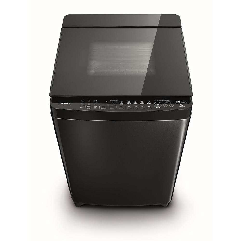 東芝AW-DG16WAG變頻洗衣機-16 Kg公斤黑色