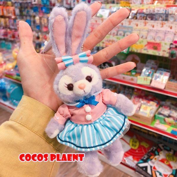 日本東京迪士尼 2019 達菲捉迷藏系列 史黛拉兔 站姿款 絨毛娃娃吊飾 COCOS TN650