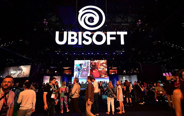 Gaming fans play Ubisoft games at the 2019 Electronic Entertainment Expo, also known as E3, opening in Los Angeles, California on June 11, 2019.