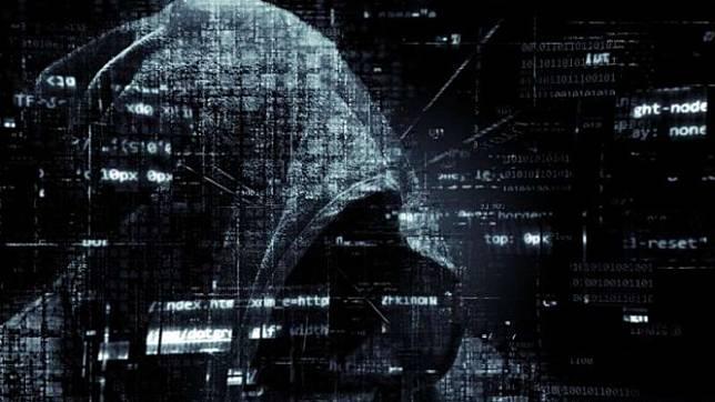 Ilustrasi pelaku kejahatan siber.