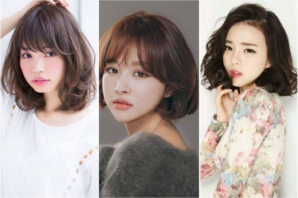 7 Model Rambut Sebahu Tercantik Ala Korea Yang Tebal Dan Mengembang Womantalk Com Line Today