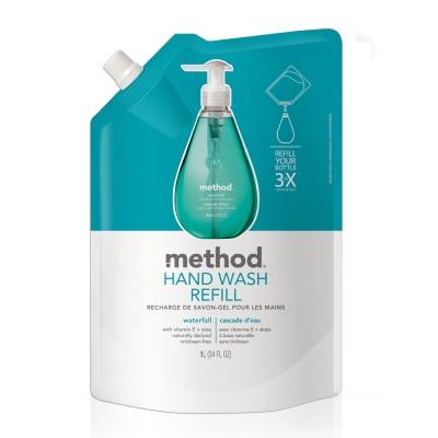 Method 美則 清泉天然洗手乳(補充包) 1000ml