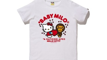 A BATHING APE  x Hello Kitty 情人節限定單品