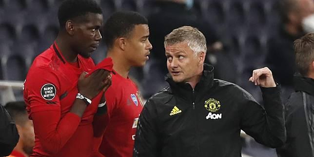 Manajer Manchester United, Ole Gunnar Solskjaer (c) AP Photo