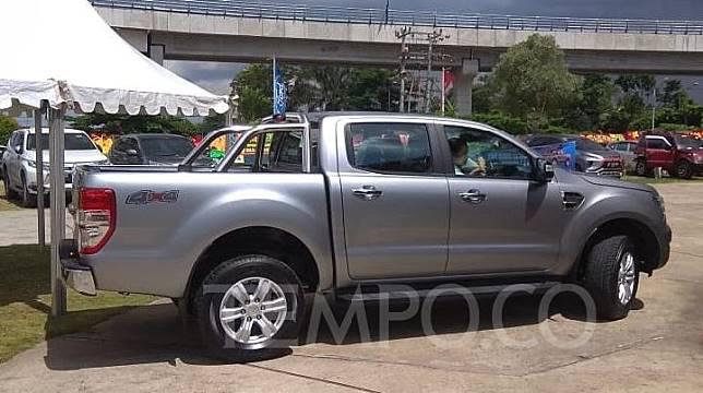 Ford Ranger terbaru dipasarkan di dealer The Pitstop, Palembang, 15 Februari 2020. TEMPO/Parliza Hendrawan