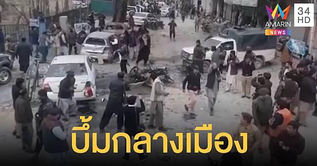 ระเบิดพลีชีพพุ่งโจมตีขบวนพาเหรดทางศาสนา ตาย-เจ็บเป็นเบือ