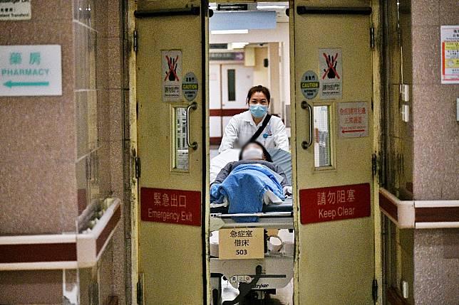 公立醫院已相應啟動「緊急應變級別」。