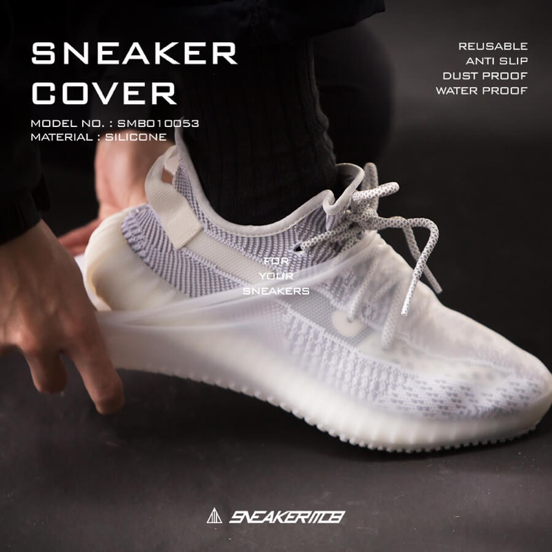 SNEAKER MOB 台灣製 防水球鞋鞋套 防滑 雨天必備 可重複使用