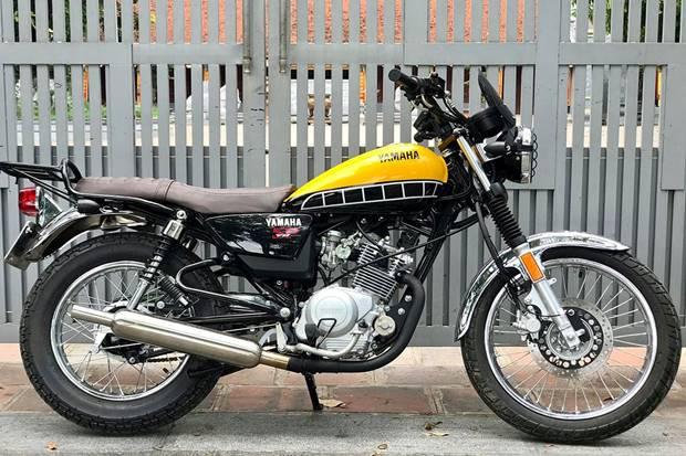 Yamaha Hadirkan Motor Klasik YB125 2019
