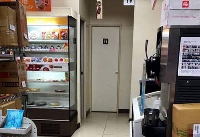 ▲女網友在公廁外等了10分鐘都沒人出來,擔心裡面是否出了意外。(圖/爆怨公社)