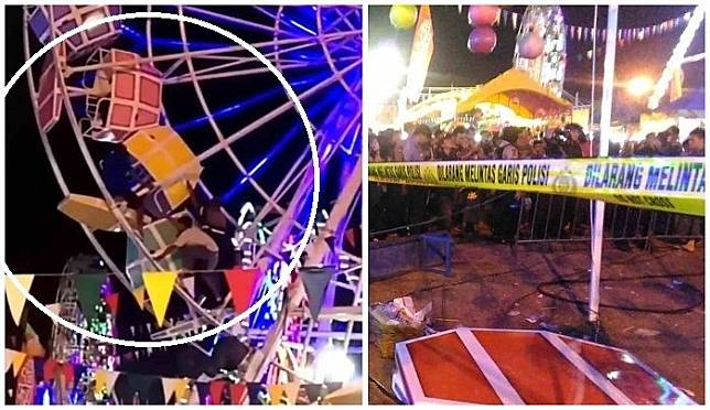 Kecelakaan bianglala di Sekaten Yogyakarta