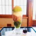 わらびもちパフェ - 実際訪問したユーザーが直接撮影して投稿した元吉町スイーツ甘味どころ ぎをん小森の写真のメニュー情報