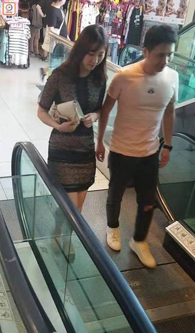 張雪瑩否認對方係男友。