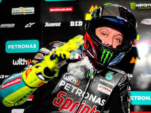 Meski Tampil Buruk, Valentino Rossi Yakin Bisa Bangkit di Sesi Latihan Bebas 3 MotoGP Spanyol