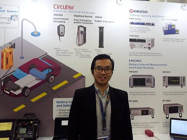 Stevanus, selaku direktur PT Hitech Solution Power System