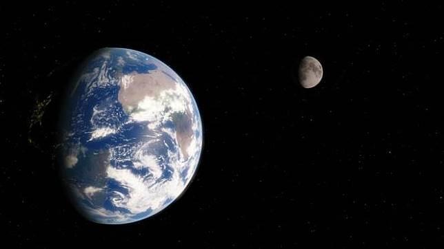 Hasil gambar untuk ilustrasi bumi menjadi bola