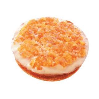 オレンジとチーズのタルト