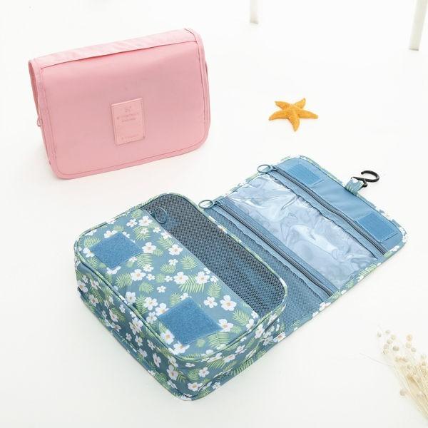 熱帶島嶼洗漱包 旅行收納包 旅行包 收納包 手提包 化妝包 旅行用品