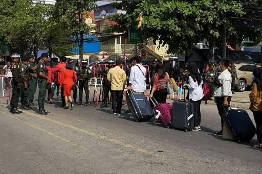 ตำรวจกัมพูชาระบุไม่รู้เรื่องการหายตัวของ วันเฉลิม สัตย์ศักดิ์สิทธิ์ นักกิจกรรมชาวไทยที่ลี้ภัยอยู่ในกัมพูชา Ban THEARO / AFP