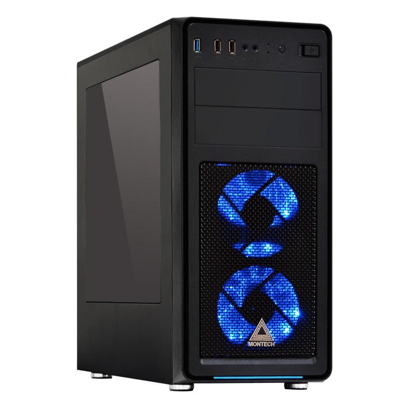 MI510400 I5-10400/B460M /8G/GTX 1650 /1TB /500W處理器:INTEL I5-10400 /1200 中央處理器 盒裝主機板:微星 B460M 主機板記憶體