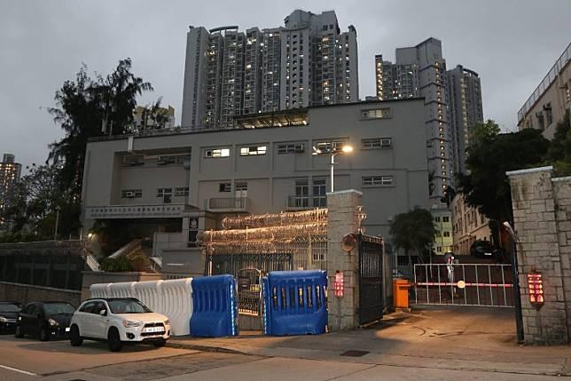 警方西九龍機動部隊一名31歲男警員初步確診新冠肺炎。(余基宏攝)