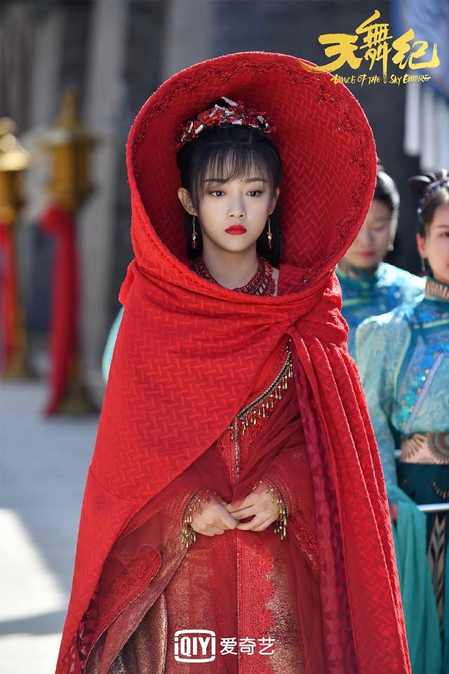 近期古裝劇「紅衣美人」7:吳佳怡 飾演《天舞紀》蘇猶憐